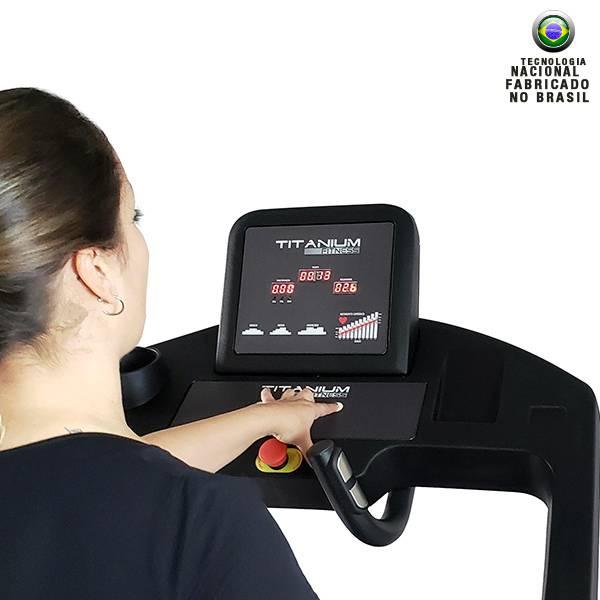 Esteira Titanium Fitness TP270