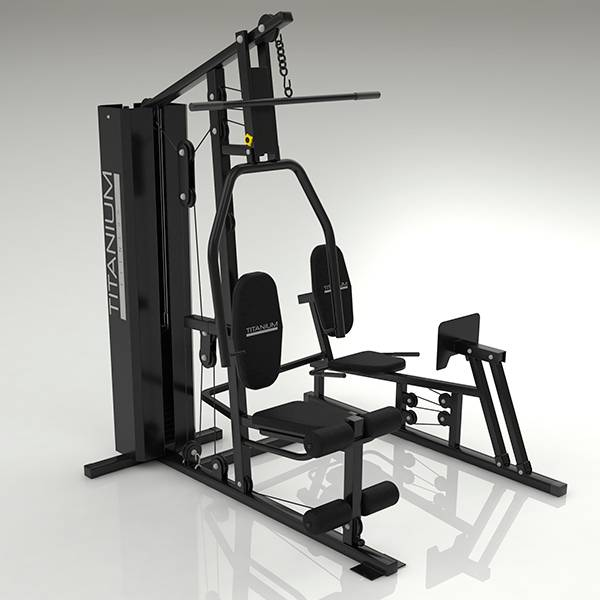 Multiestação Titanium Fitness GC57 com Leg Press